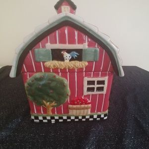 Other - Red Barn Cookie Jar